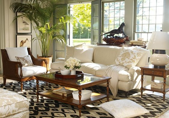 Colonial living room ideas