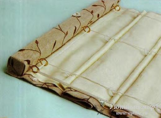Римские шторы без подкладки