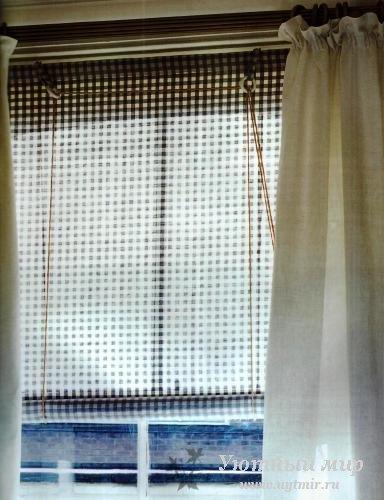 Как сшить шторы из ткани