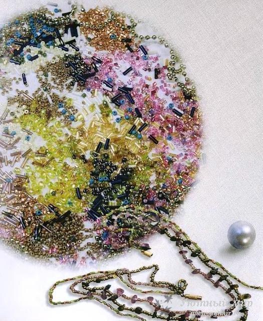 Несмотря на огромное разнообразие готового бисера, стекляруса и тому...  Например, бусины можно изготовить из глины.
