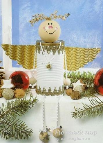 Своими руками рождественского ангелочка фото 562