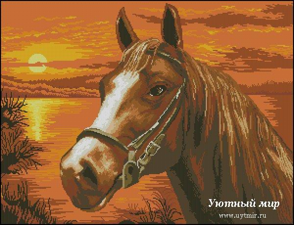 Лошади, единороги