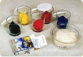 как и чем покрасить соленое тесто