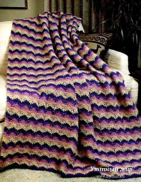 Схема вязания накидок для табурета