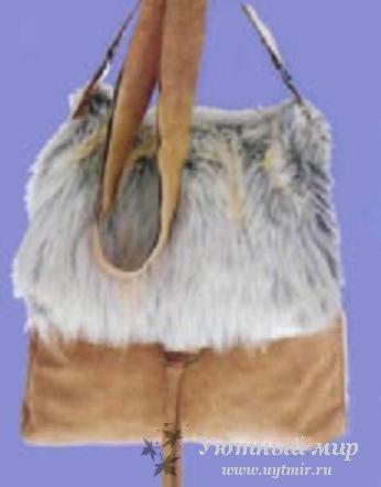 меховой полуфабрикат: меховые конверты womar, как сшить сумку из меха.