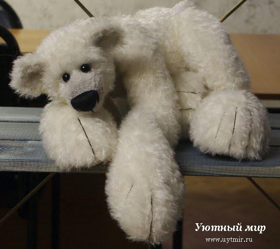 Как сделать мягкую игрушку медведь