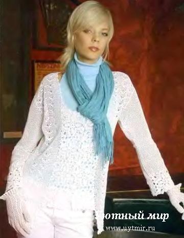 Вязание свитера спицами для женщин крупная вязка 212