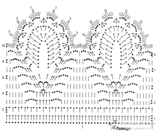 Наталья лок схемы вязания 74